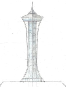 CONFLUENCE TOWER   (three concepts)