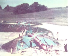 LESSOR SERPENT MOUND   Koch Park  Landscape Architect  Robert Goetz  Florissant Missouri